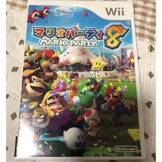 Wii - Wii ソフト マリオパーティ 8 説明書なし
