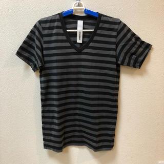 アタッチメント(ATTACHIMENT)の【送料無料】  ATTACHMENT  ボーダー Tシャツ  Sサイズ(Tシャツ/カットソー(半袖/袖なし))