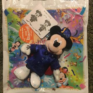 ディズニー(Disney)の35周年 ハロウィン ミッキーぬいぐるみバッジ(ぬいぐるみ/人形)