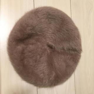 ロペピクニック(Rope' Picnic)のファーベレー帽(ハンチング/ベレー帽)