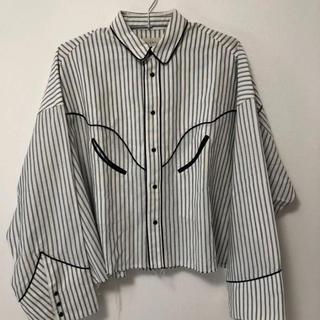 ジエダ(Jieda)のJieDa ウェスタンストライプシャツジャケット(シャツ)