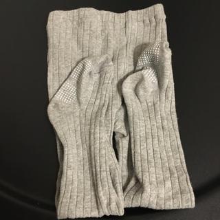 シマムラ(しまむら)のリブ ベビー タイツ グレー しまむら(靴下/タイツ)