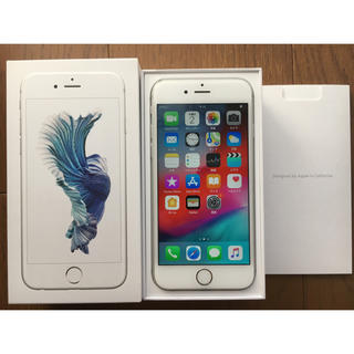 アップル(Apple)のiPhone6s 16GB シルバー SIMフリー(スマートフォン本体)