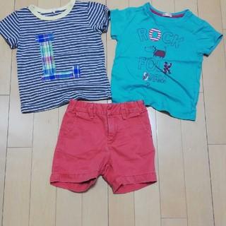 ベビーギャップ(babyGAP)の男の子 Tシャツ ハーフパンツ サイズ90 lagom gap(パンツ/スパッツ)