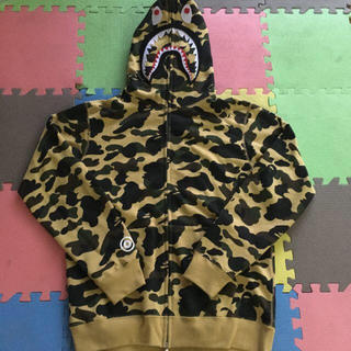 A BATHING APE - A BATHING APE シャークパーカー