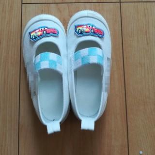 ディズニー(Disney)のカーズ 上靴 14センチ 記名ありですがきれいです(その他)