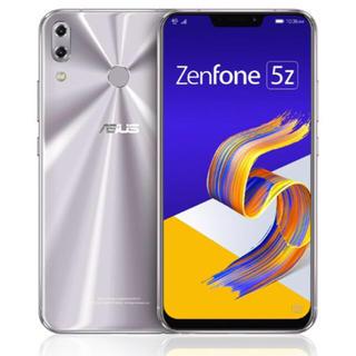 エイスース(ASUS)の新品未開封 即発送ASUS Zenfone 5Z Series スペースシルバー(スマートフォン本体)