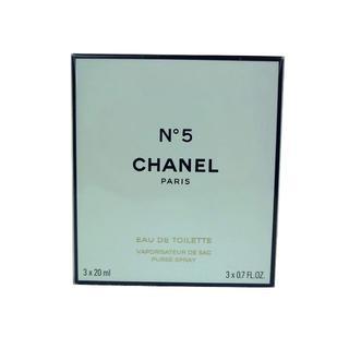 シャネル(CHANEL)の新品 【シャネル】No.5 セット 20ml×3 (並行輸入品)(香水(女性用))
