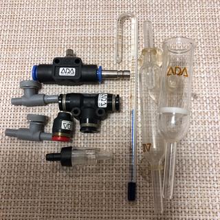 熱帯魚 ADA CO2アドバイスシステム(アクアリウム)