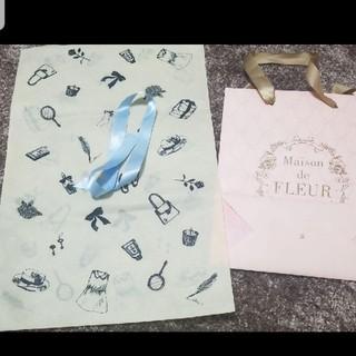 Maison de FLEUR - メゾンドフルール 紙袋 プレゼント袋