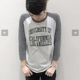 アパルトモンドゥーズィエムクラス(L'Appartement DEUXIEME CLASSE)の新品●GOOD SPEED UCLA ラグランTEE●(Tシャツ(長袖/七分))