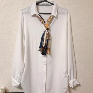 シマムラ(しまむら)の【しまむら】ロングシャツ(シャツ/ブラウス(長袖/七分))