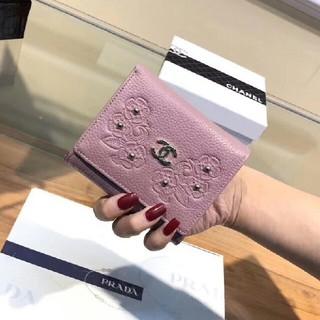 シャネル(CHANEL)のシャネル三つ折り財布(折り財布)