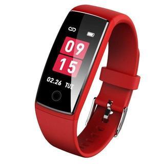 スマートブレスレット 血圧 心拍計 カラースクリーン スマートウォッチ 防水 (腕時計(デジタル))