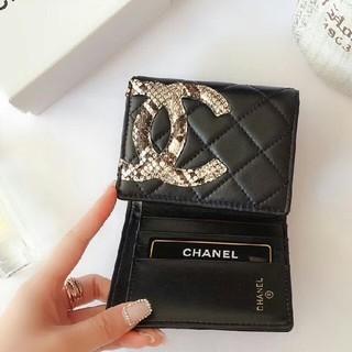 シャネル(CHANEL)のシャネル 三つ折り財布 (折り財布)