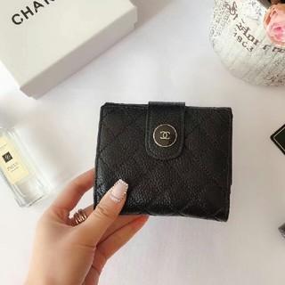 シャネル(CHANEL)のCHANEL   三つ折り財布 (折り財布)