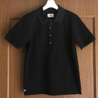 ダブルタップス(W)taps)のWTAPS ダブルタップス メンズ ポロシャツ 黒 ブラック S(ポロシャツ)