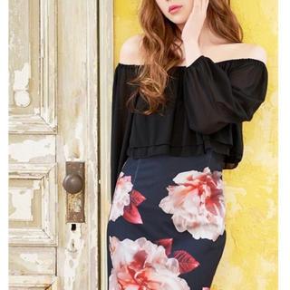デイジーストア(dazzy store)のオフショルダータイトドレス(ミニドレス)