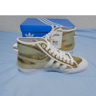 アディダス(adidas)のadidas NIZZA HI G3887 送料無料(スニーカー)