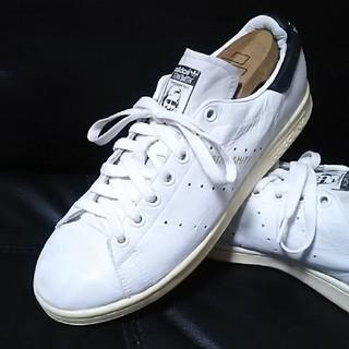 アディダス(adidas)の 王道モデル!アディダススタンス高級レザースニーカー人気の白黒!   (スニーカー)