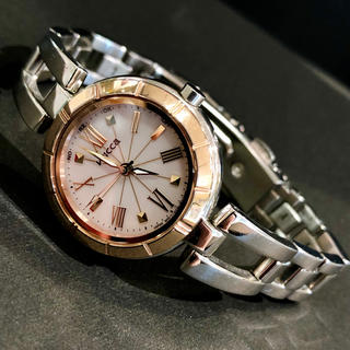 CITIZEN - CITIZEN wicca(シチズンウィッカ)ソーラー電波時計 レディース腕時計