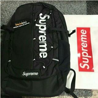 Supreme - supreme 17ss バックパック 黒