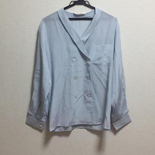 アルファキュービック(ALPHA CUBIC)のALPHA CUBIC シルクシャツ(シャツ/ブラウス(長袖/七分))