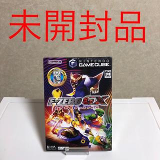 ニンテンドーゲームキューブ(ニンテンドーゲームキューブ)のゲームキューブ エフゼロ 未開封(家庭用ゲームソフト)