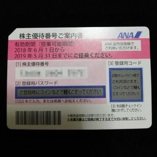エーエヌエー(ゼンニッポンクウユ)(ANA(全日本空輸))のANA 国内線株主優待券(航空券)