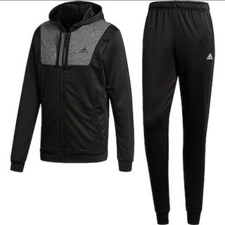 アディダス(adidas)のadidasアディダス■ジャージ 上下セット新品■XL ブラック(ジャージ)