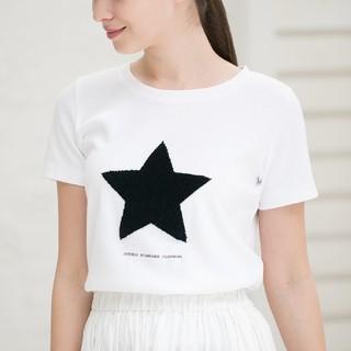 DOUBLE STANDARD CLOTHING - ダブルスタンダードクロージング スヌーピー コラボ サガラTシャツ 白