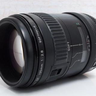 キヤノン(Canon)の★希少★Canon EF135mm F2.8 ソフトフォーカス(レンズ(ズーム))
