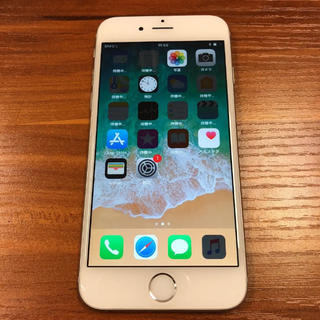 iPhone - iphone6 silver 16GB Softbank