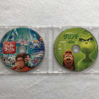 Disney - 未使用 DVD+クリアケース シュガーラッシュ オンライン グリンチ セット