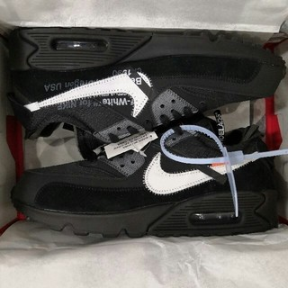 ナイキ(NIKE)のNIKE Off-white The10 AIR MAX 90 新品 26.5(スニーカー)
