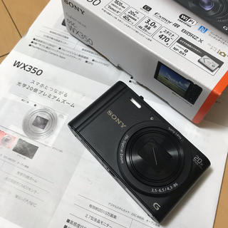 ソニー(SONY)のSONYサイバーショット DSC-WX350 デジカメ (コンパクトデジタルカメラ)