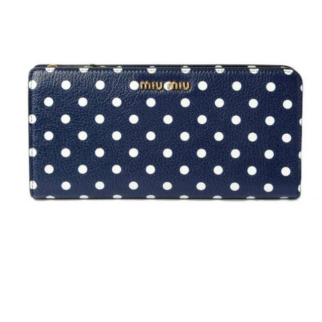 ミュウミュウ財布 メンズのファッション小物(長財布)の商品写真