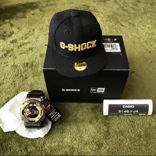 ジーショック(G-SHOCK)の新品未使用 限定  NEW ERA コラボモデル GA-110NE-9AJR(腕時計(デジタル))