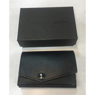 ☆アブラサス☆小さい財布 ブラック(折り財布)