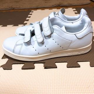 アディダス(adidas)のadidas アディダス スタンスミス 24cm 白 ゴールド スニーカー(スニーカー)