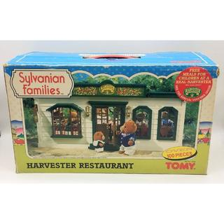 シルバニアファミリー ハーベストレストラン UK限定 森のレストラン 希少品
