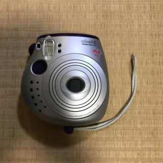 フジフイルム(富士フイルム)のチェキ instax mini 20 パープル(フィルムカメラ)