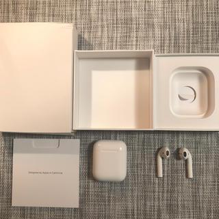Apple - AirPods1(正規品、 箱あり、使用期間一ヶ月、消毒殺菌済)