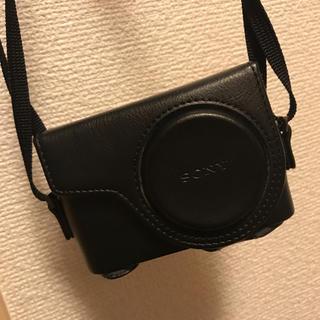 ソニー(SONY)のソニー サイバーショット wx350 専用ケース(コンパクトデジタルカメラ)