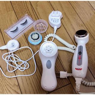 ドクターシーラボ(Dr.Ci Labo)のドクターシーラボ超音波美顔器とクラリソニック電動洗顔器とつけまつげのセット(フェイスケア/美顔器)