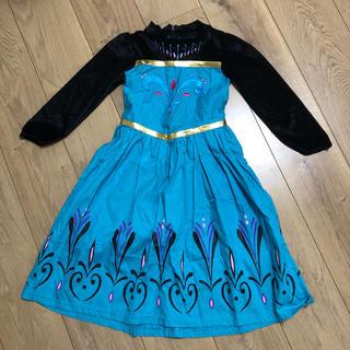 ディズニー(Disney)のアナと雪の女王 110 ドレス ワンピース(ワンピース)