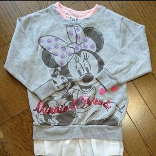 ディズニー(Disney)のDisney 長袖トレーナー 120㎝(Tシャツ/カットソー)