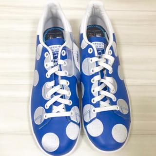 アディダス(adidas)の新品箱なし☆30cm☆ stan smith × ファレル ポルカ ブルー (スニーカー)