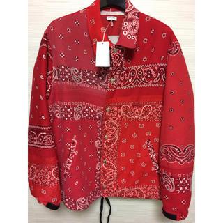 NUMBER (N)INE - OLD PARKバンダナコーチジャケットMA-1ソロイストsoloistシャツ