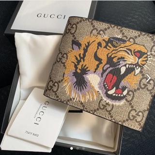 グッチ(Gucci)のGUCCI タイガー財布(折り財布)
